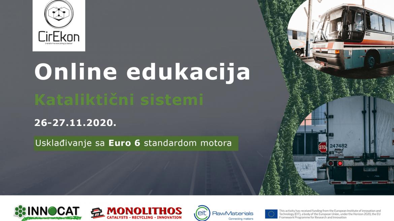 Vebinar o ugradnji novih katalizatora u flote teških vozila – poziv za auto servise, reciklažne centre, edukativne ustanove