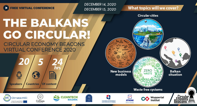 Balkan postaje cirkularan – na besplatnoj onlajn konferenciji