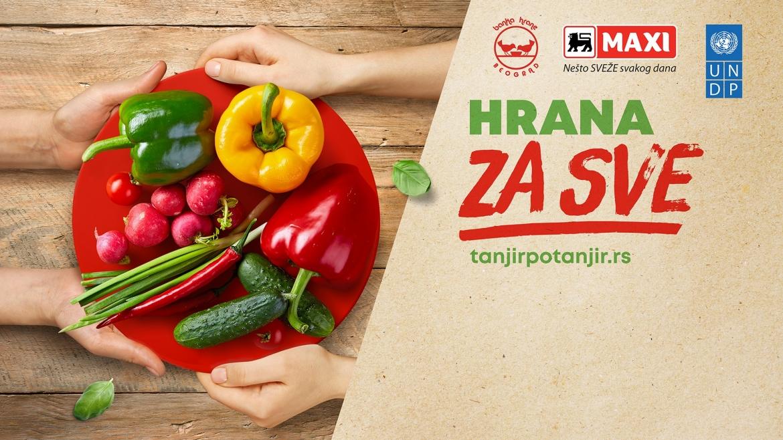 """Pokrenuta nova digitalna platformu za donaciju hrane """"Tanjir po tanjir"""""""