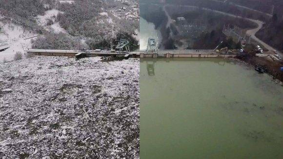 Završeni radovi na čišćenju Potpećkog jezera – uklonjeno 10 hiljada kubika plivajućeg otpada