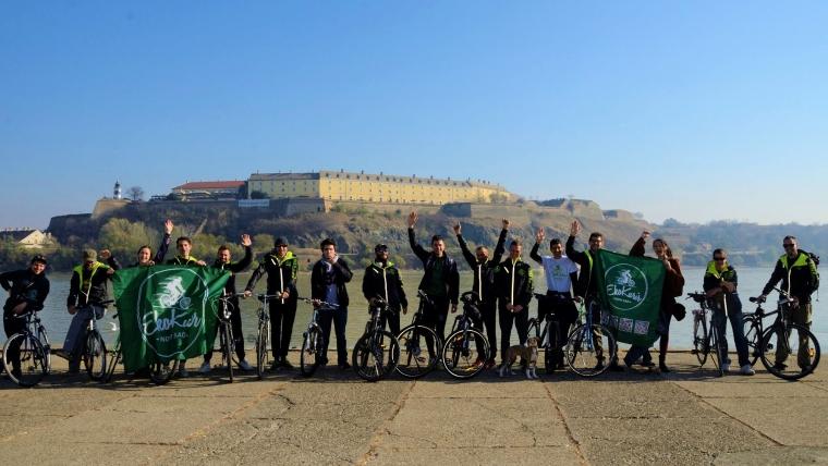 Eko Kuriri iz Novog Sada – dostava na biciklima, uz obavezan osmeh