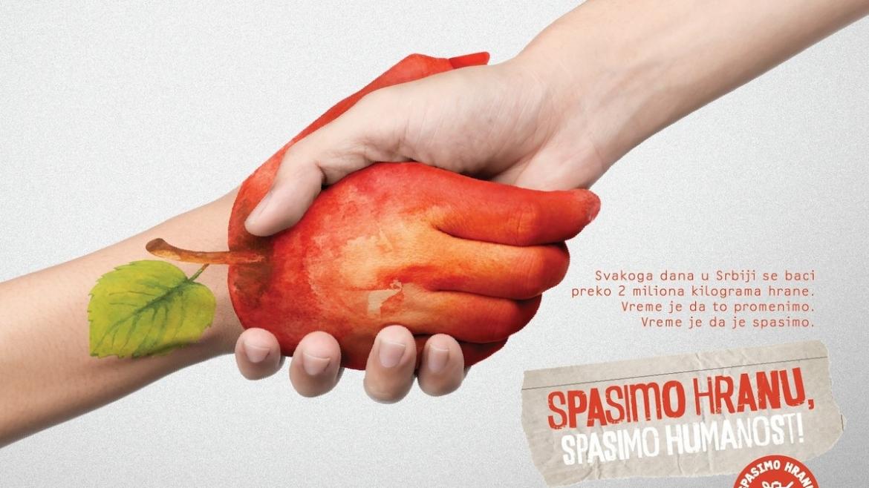 """Pokrenuta kampanja """"Spasimo hranu, spasimo humanost"""""""
