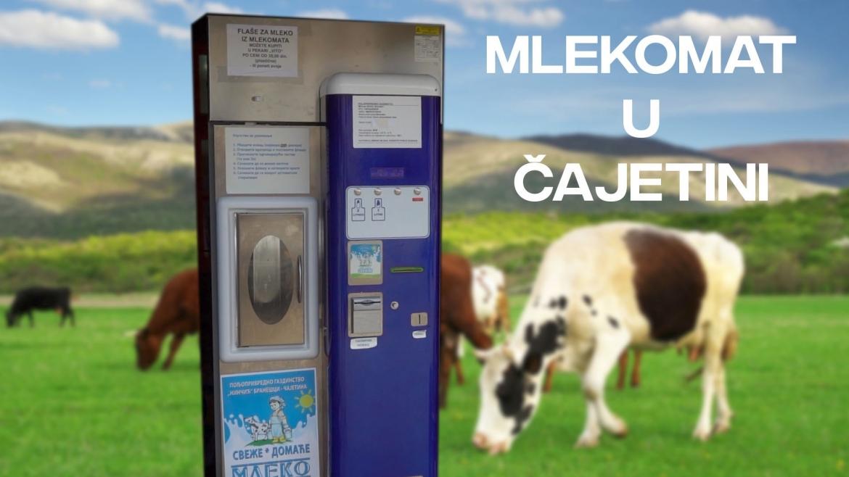 Mlekomat u Čajetini i dalje jedini u Srbiji – interesovanje poljoprivrednika veliko, ali subvencija još nema